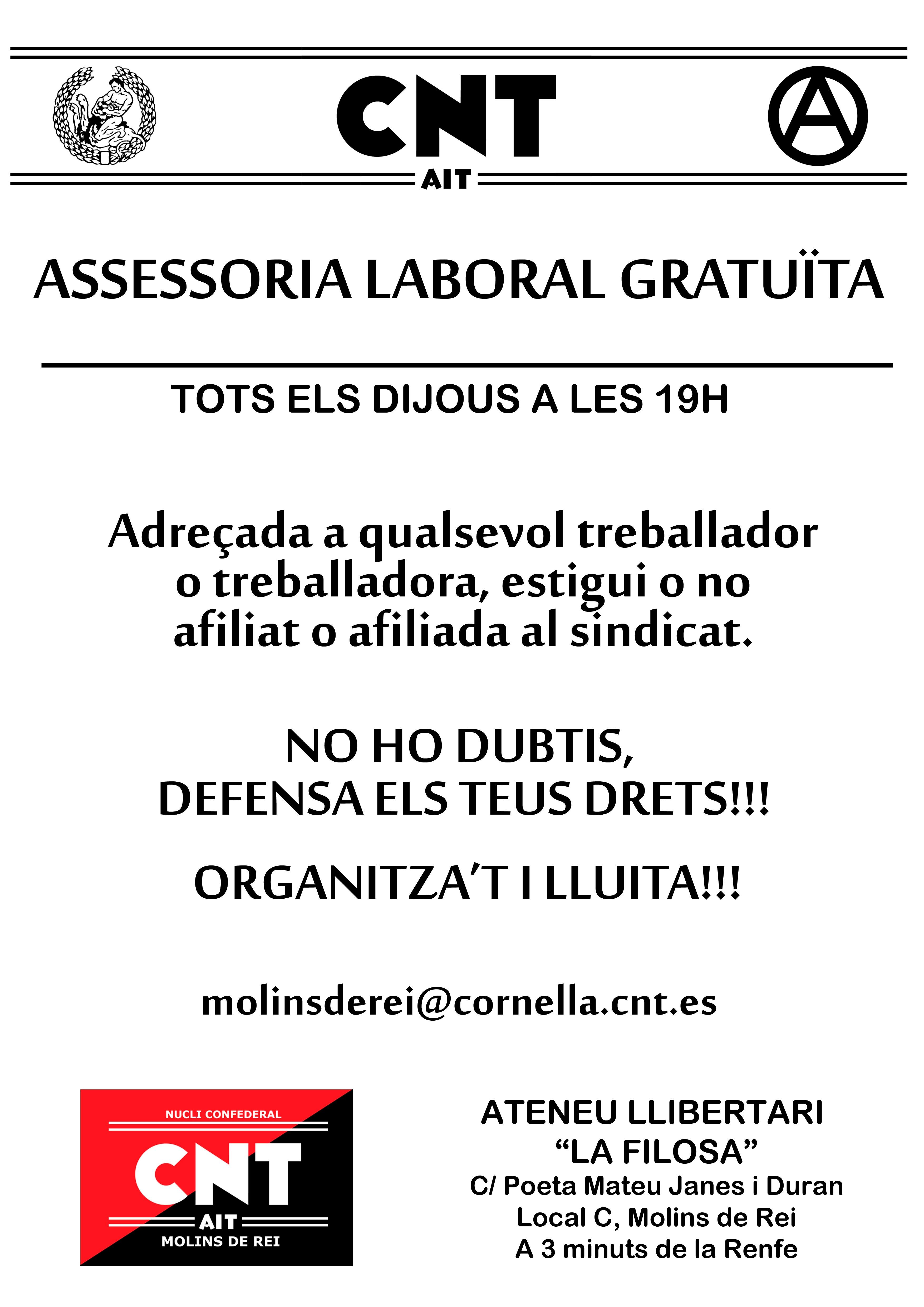 asesoría laboral gratuita